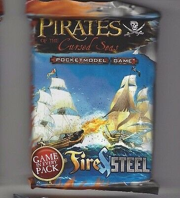 Pirates of the Cursed Sea - Fire and Steel -  Game Pack by Chessex