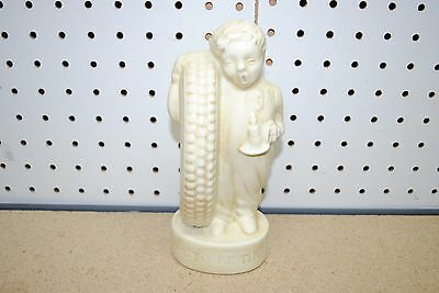 """Fisk Tire Co """"Time to Re-Tire"""" Boy In Pajamas Ceramic Coin Bank - Burr Giffin"""
