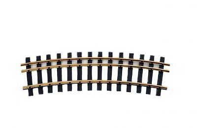 Zenner Kit 4 bent Three-rail tracks, Gauge 2(64mm)+G, 22,5°, R=900mm