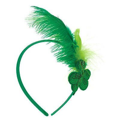 St. Patrick's Day Feather Headband (A398182)