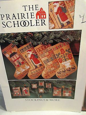 Prairie Schooler STOCKINGS & MORE Counted Cross Stitch Chart