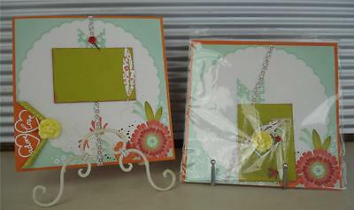 "Scrapbook Page Layout DIY Kit 12"" x 12"" ~ Spring Bloom ~ ready 2 assemble by WLH"