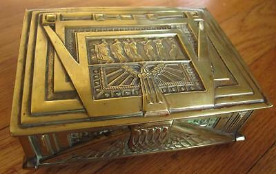 Antique Beautiful Erhard & Söhne German Detailed Box Germany
