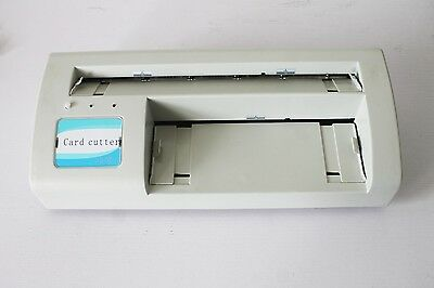 "Electric Business Card Cutter 3.5""x2"" A4 Paper&Letter Size+2000Free Template"