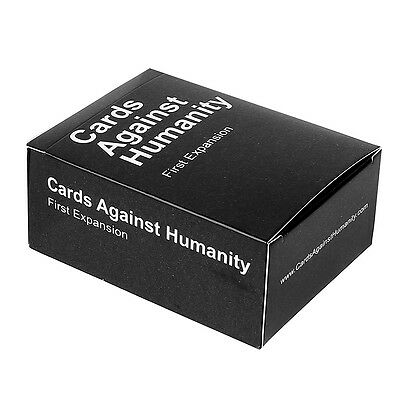 Genuine Cards Against Humanity Version 1 Party Game 112 Cards Cyber Monday Sale!