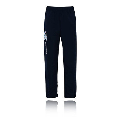Canterbury Tapered Open Hem Stadium Junior Girls Blue Outdoors Pants Bottoms
