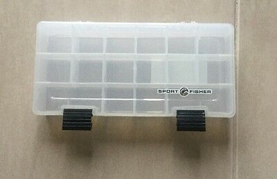 Plastic Storage Container Perfect For Small Craft Items