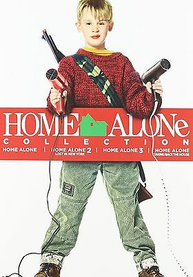 FREE SHIPPING  Home  Alone  Collection 1,2,3,4  DVD Set