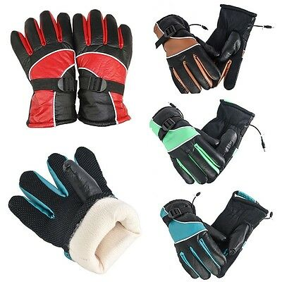 1Pair 12V Motorcycle Outdoor Hunting Electric Warm Winter Warmer Heated Gloves