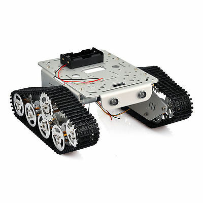 Smart Robot Car Chassis Kit for Arduino Metal Tank Crawler Education Competition