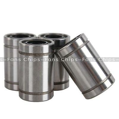 New 2PCS LM8UU 8mm Linear Bush Ball Bearing Bushing For Reprap Prusa 3D Printer
