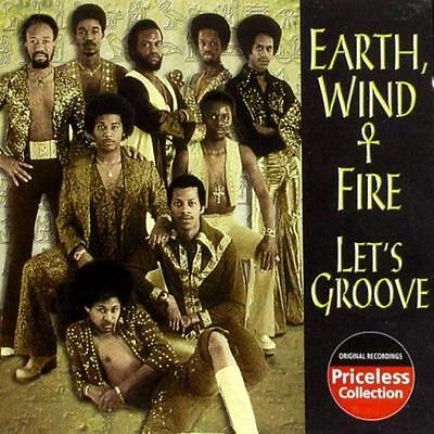 EARTH WIND & FIRE - Let's Groove (CD 2003) USA Import MINT Best of/Greatest Hits