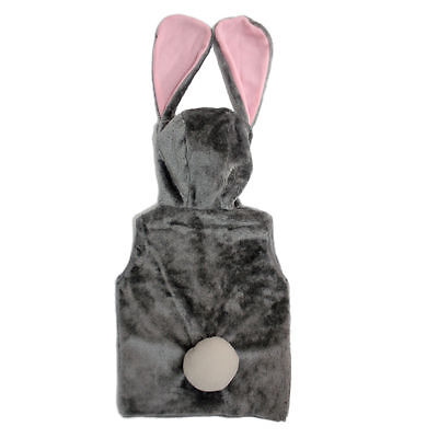 Cute Plush Bunny Rabbit Clothes Costume Animal Trunk For Children Vest jacket