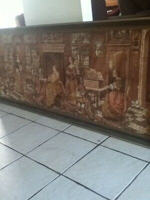 Very Large Antique Hand Made Tapestry