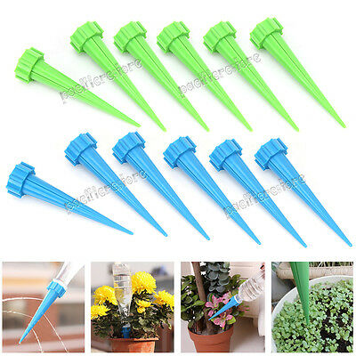 12 x Automatic Watering Spike Irrigation Plant Garden Drip Water FREE POSTAGE