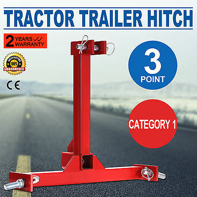 Tractor Trailer Hitch Receiver Category 1 Drawbar Industrial Receiver 3 Point