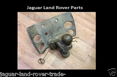 Land Rover Discovery 3 Fix Tow Bar Drop Plate With Tow Ball