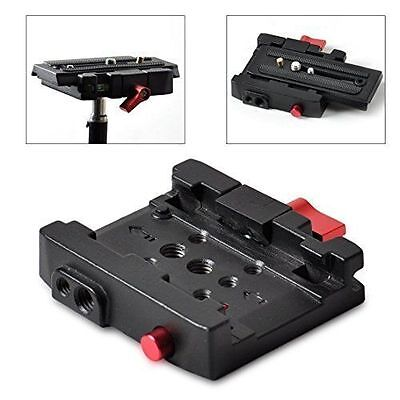 Tripod  Rapid Connect Adapter with Quick Release Plate for Manfrotto 577 503 Q5