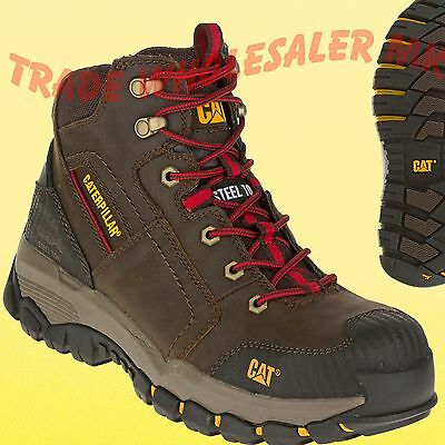 Caterpillar Cat Navigator Safety Boots Steel toe Brown/Clay