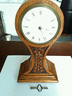 Antique Arts And Craft Balloon Clock