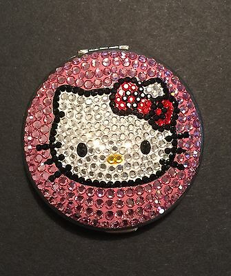 Hello Kitty Simmons Jewelry Swarovski rhinestone compact mirror