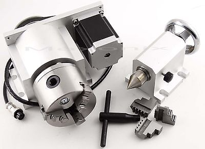 CNC Router Rotational Axis MANDRINO AUTOCENTRANTE PER TORNIO GRIFFE 3+3 - Ø80mm