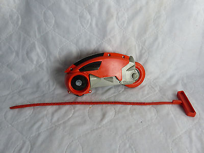 1981 Tomy Tron Lightcycle red + rip cord  - vintage