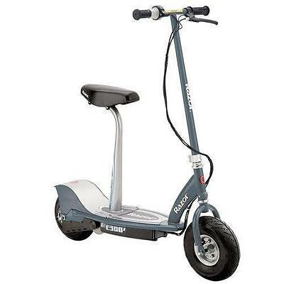 Razor E300S Electric Scooter Mat Grey With Seat New £300 Quick Dispatch