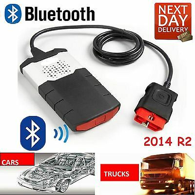 Bluetooth All Car Universal Fault Reader Code Diagnostic Scanner Obd2 2014 Xmas