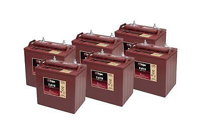 6x T-875 Trojan Battery Deep Cycle (T875) 8V 170Ah - 2 Years Warranty