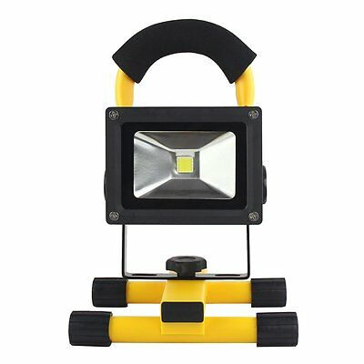 Portable Rechargeable 10W LED Outdoor Camping Flood Light Spot Work Lamp Car