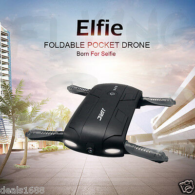 JJRC H37 Foldable Altitude Hold WIFI FPV RC Quadcopter Drone Selfie w/ HD Camera