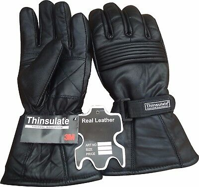 Waterproof Motorbike Motorcycle Leather Gloves for Winter R A X