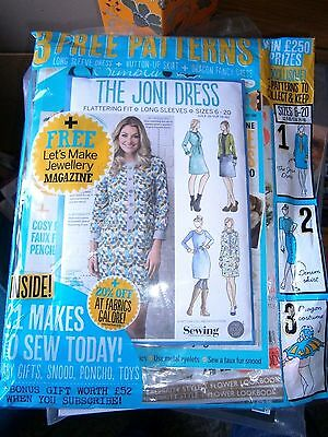 Simply Sewing Magazine Issue 22 (new) 2016