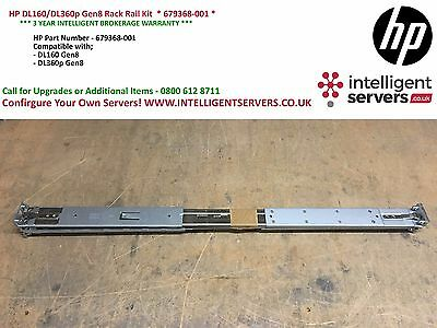 HP DL160/DL360p Gen8 Rack Rail Kit  * 679368-001 *