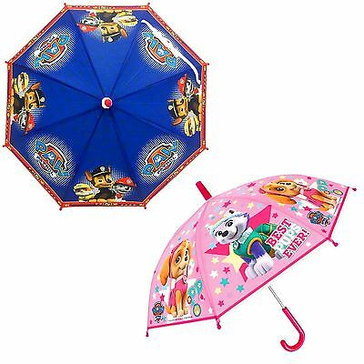 Nickelodeon® Official Paw Patrol Umbrella High Quality PVC Material Easy Holding