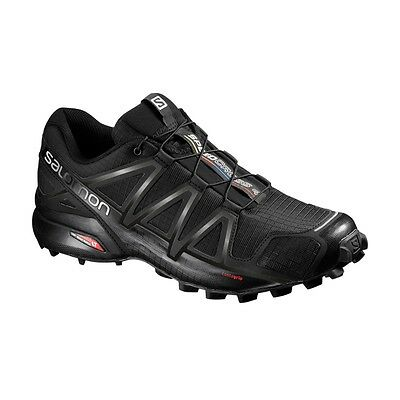 Salomon Speedcross 4 schwarz - Herren Trail Runningschuhe Outdoor 383130