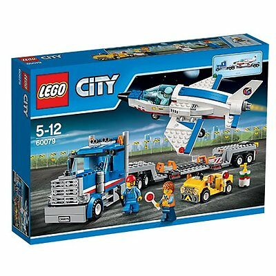 Lego City Space Port Training Jet Transporter 60079 Gift Brick Building Kit New