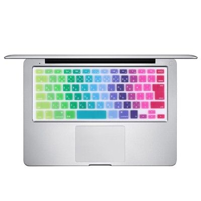 TECHNIC Colorful Apple Laptop Silicone Keyboard Protector Protective Film for M