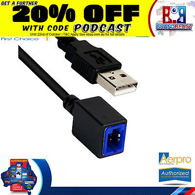 Aerpro Nissan Xtrail 2011-2013 Factory Usb Adaptor To Retain Oe Usb