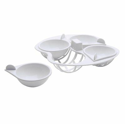 Microwave Egg Poacher - 4 Cup - Kitchen Craft Microwave Cookware Cups For Eggs