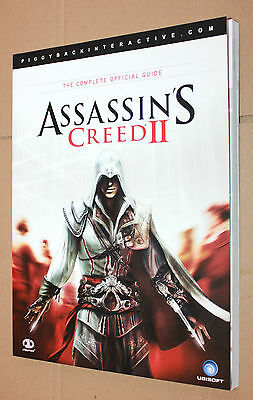 """Assassin's Creed II 2 Strategy Guide Map Poster Lösungsbuch """"English / Englisch"""""""