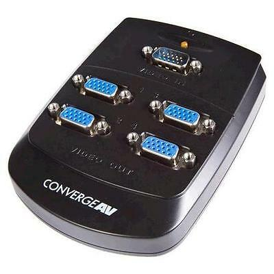 StarTech.com ST124W 4 Port VGA Video Splitter - Wall Mountable
