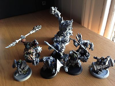Hordes Warmachine Troll Bloods - Extreme Mauler, Doomshaper and more