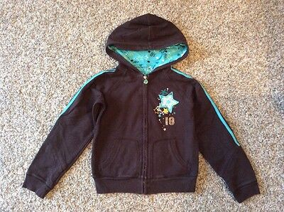 Girls Brown Zeroxposure Jacket / Hoodie Size M 10-11-12 Years
