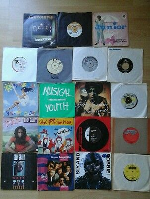 "Reggae / Ska 7"" Singles Joblot . 19 Singles All Listed"