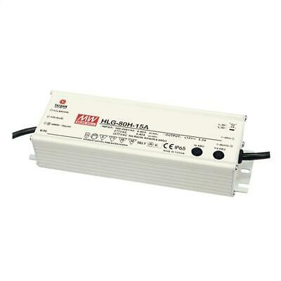 LED power supply 81W 24V 3.4A ; MeanWell HLG-80H-24B ; dimming function