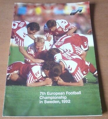 1992 - European Championship Review Brochure.