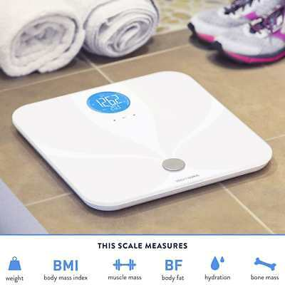 Weight Gurus Wifi Smart Connected Body Fat Scale w/ Backlit LCD ITO Conductive