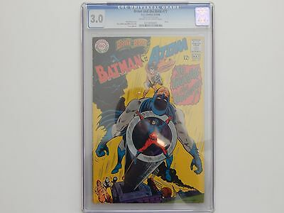 The Brave And The Bold #77 CGC 3.0 DC Comics Atom 1968 Silver Age